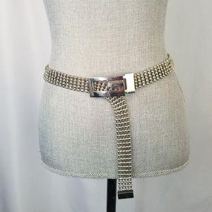 Guess Chain Silver Ball Link Belt